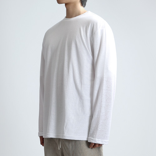 BARE LONG SLEEVES (WHITE)