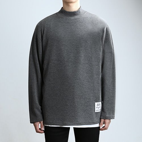 QUARTER.NECK SLEEVES (GRAY)