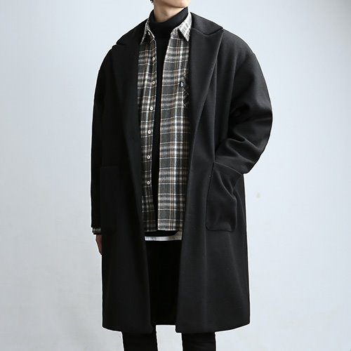 POUCH SP.OVER COAT (BLACK)