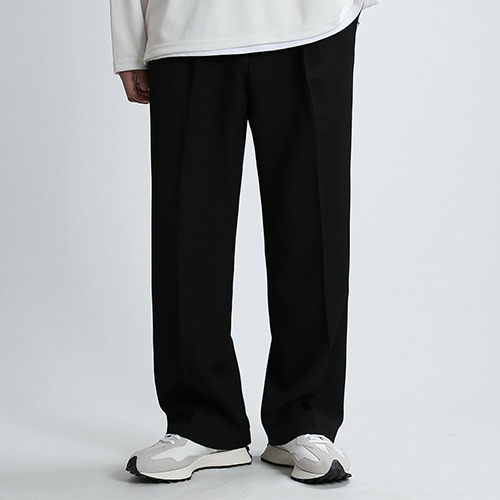 GO.WIDE SPAN PANTS (BLACK)