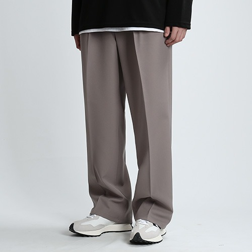 GO.WIDE SPAN PANTS (MUD.BEIGE)