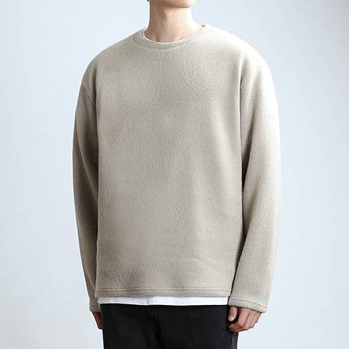 FLUFF TEX.KNIT (TAN.BEIGE)