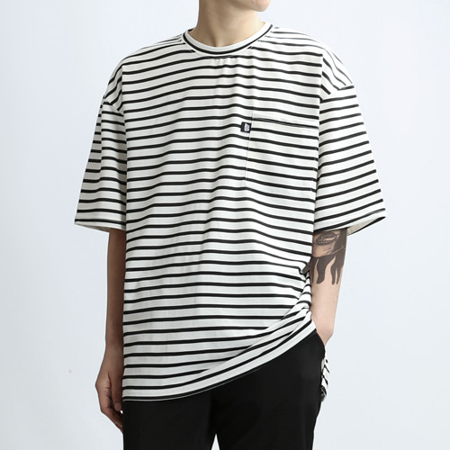 Sail Pocket Stripe (Black)
