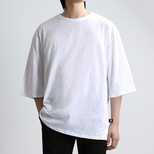 SLUB THIRD SLEEVES (CREAM)