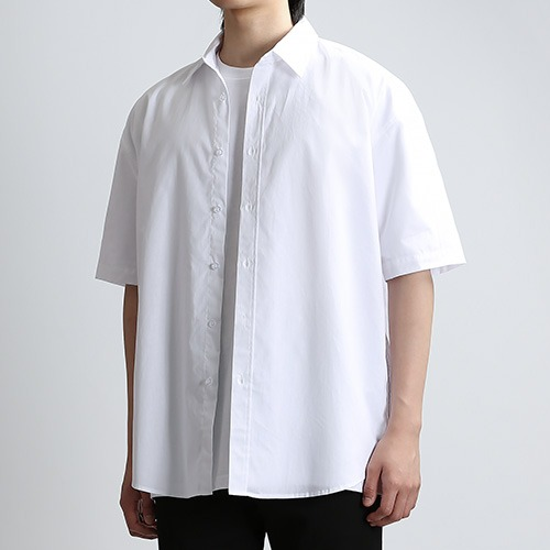 SHARP.TEX SUMMER SHIRTS (WHITE)