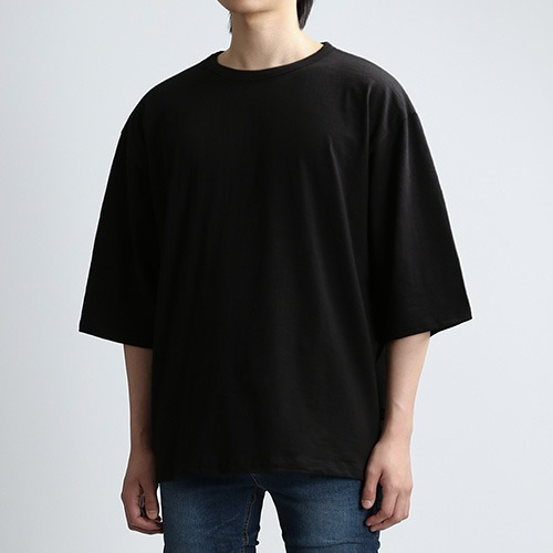 SLUB THIRD SLEEVES (BLACK)