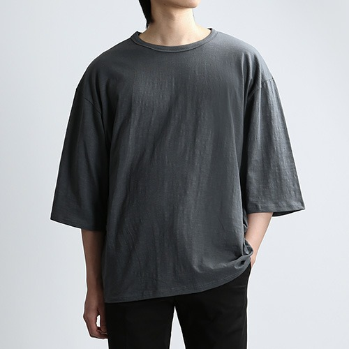 SLUB THIRD SLEEVES (DARK.GRAY)