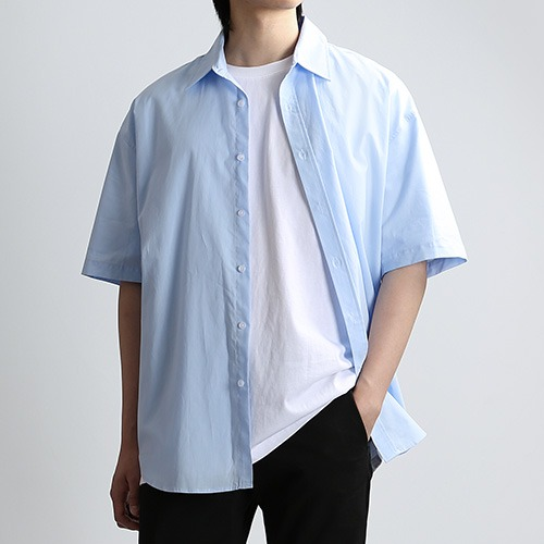 SHARP.TEX SUMMER SHIRTS (SKY)