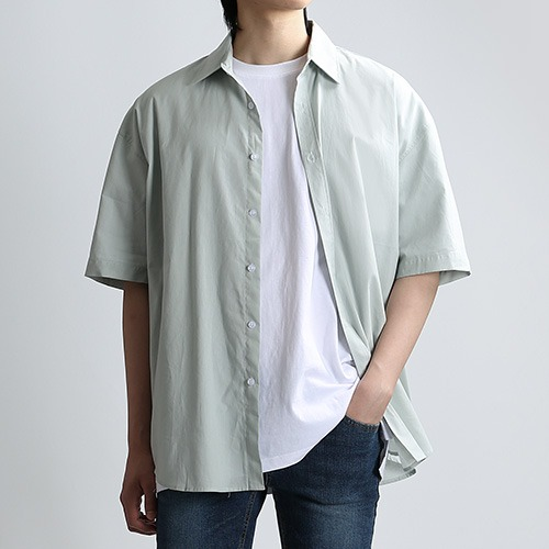 SHARP.TEX SUMMER SHIRTS (MINT)